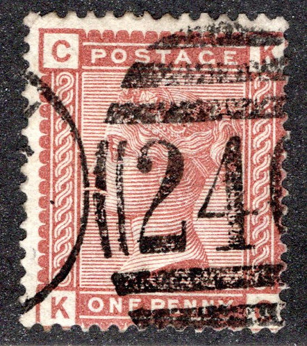 Scott 79, one penny, Great Britain Postage