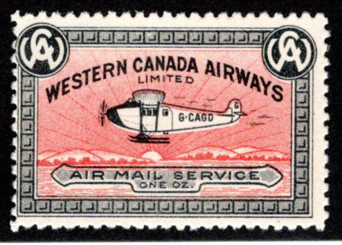 CL40, Canada, 10c, Western Canada Airways Ltd.,MLHOG, 1927, Private Commercial