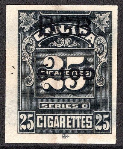 """Ryan RC394 - Brandom C378 - Series """"C"""", 25 Cigarettes, Used, F/VF"""