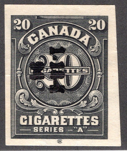 "Ryan RC301 - Brandom C337 - Series ""A"", 20 Cigarettes, Used, 1926"