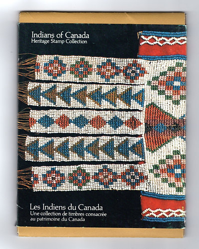 1976, Thematic Collection #11, Indians of Canada