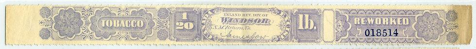 Ryan RW74 - Brandom N/A- 1881 1/20lb. Reworked Tobacco - coarse roul - Windsor