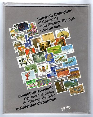1980 Annual Collection - An annual Souvenir Collection - Canada