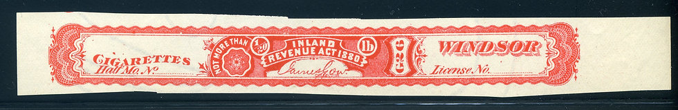 "Ryan RC47u - imperforate with no serial number -Windsor Division"" - watermarked"