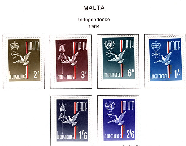 303-308 Malta, MLH, Independence, 1964