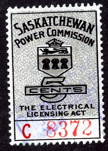 van Dam SE13 - Color Shift Variety - Saskatchewan Power Commission Gray