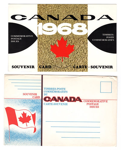 1968, Canada Post Souvenir Collection #10, Indians of Canada