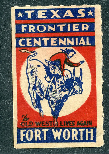 Texas Frontier Centennial - Fort Worth - The Old West Lives Again - Cinderella -