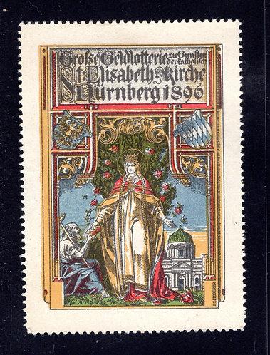 St. Elisabeth Church - Nurnberg - 1896 - Cinderella/Poster - MLHOG
