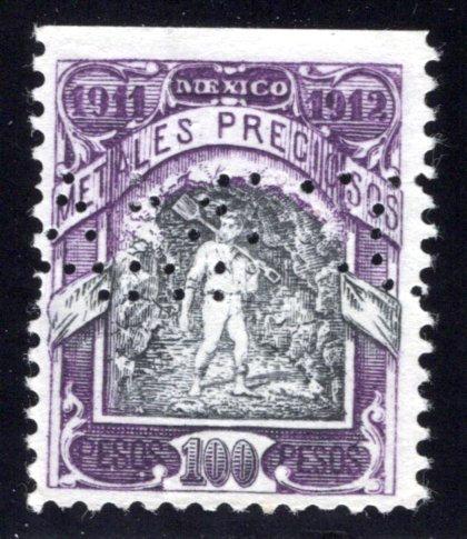 MP 68, Mexico, 100P, 1911-1912, Precious Metals / Metales Preciosos
