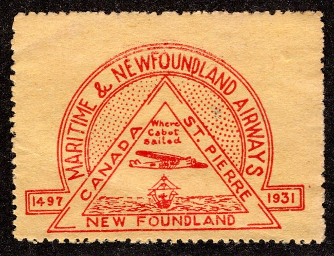Maritime & Newfoundland Airways, 1930-1931, St. Pierre and Newfoundland Route