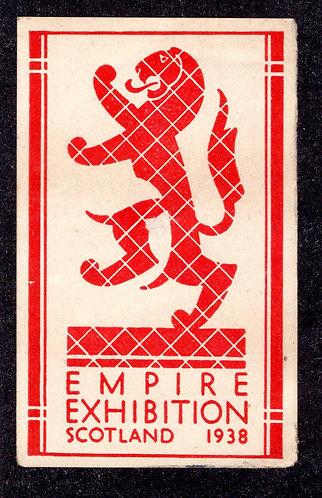 1938 Empire Exhibition - Scotland - MNHOG
