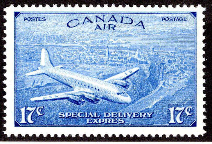 CE3, 17c, Special Delivery Air Mail Stamp, Incorrect Issue, MNHOG, VF