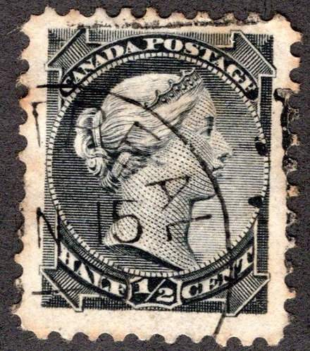 34, Scott, 1/2c, Small Queen Issue, Used, F/VF, 1882