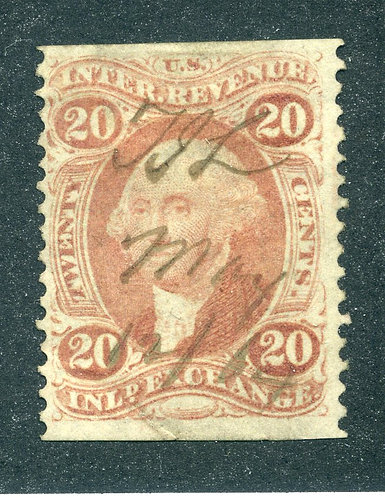R42b - 20c - Inland Exchange- part perf - used, red- ms cancel