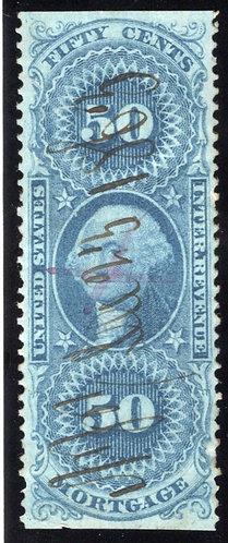R59b - 50c- Mortgage - Part Perf - Blue - VF