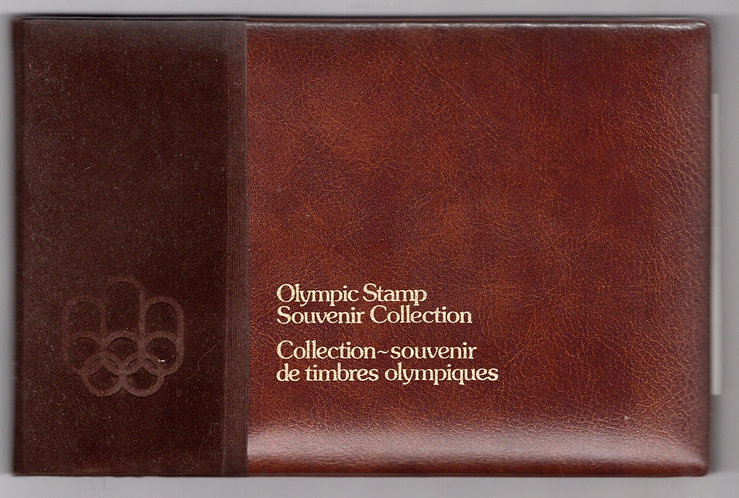 1976, Thematic Collection #10, Olympic Stamp Souvenir Collection, Volume 2