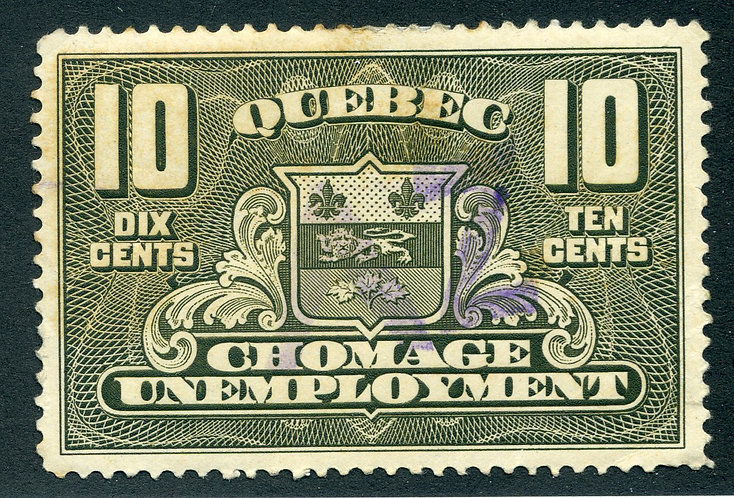 van Dam QU2 - Used - Quebec Unemployment Relief