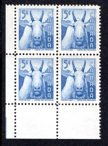 361 Scott, Canada, PB, LL, MNH, Wildlife, Mountain Goat, Postage Stamp
