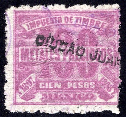 MP 12, Mexico, 100P, 1897-1898, Precious Metals / Metales Preciosos