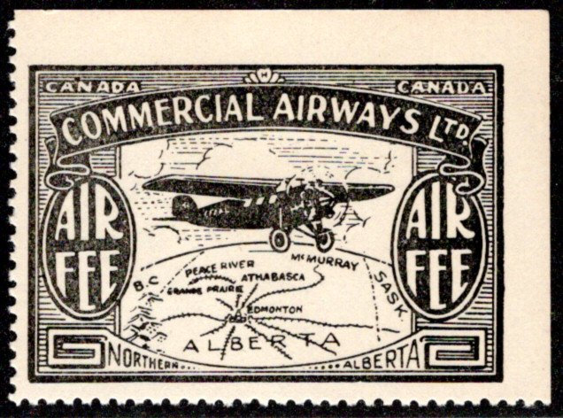 CL48, Canada, 10c, Commercial Airways Ltd., MNHOG, Private Commercial Airline