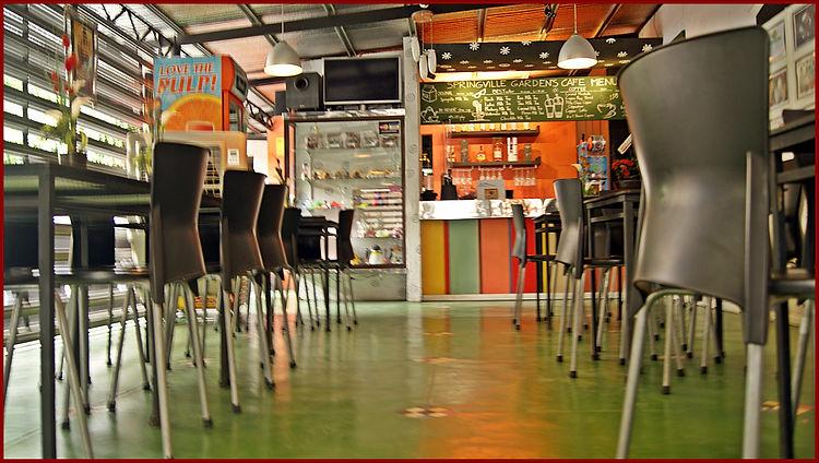 springville gardens cafe