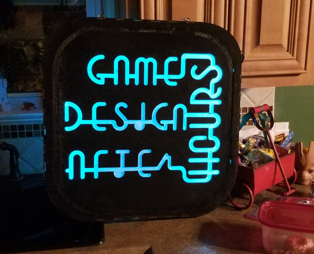 Game Design After Hours Sign