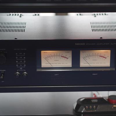 Nikko Alpha II Power Amplifier