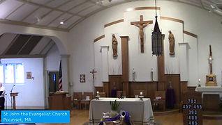 March 22, 2020 Mass at 9 AM
