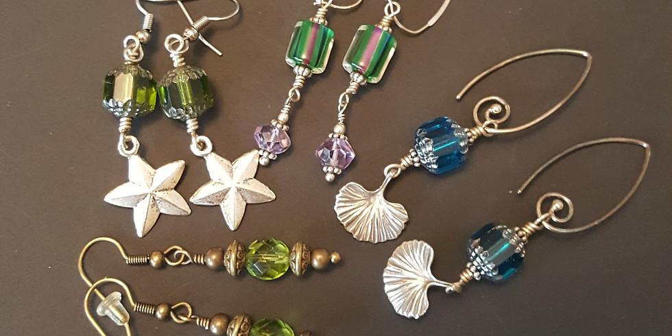 Women & Wine Wednesday - Jewelry making class