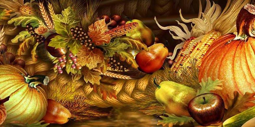 "Bluebird Hill Cellars ""Thanksgiving in August"""