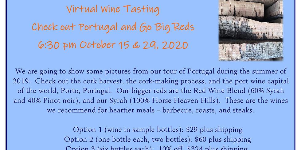 Virtual Wine Tasting/Go Big Reds
