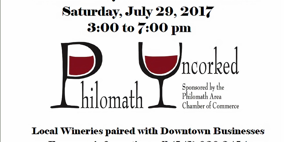 BBH at Philomath Uncorked