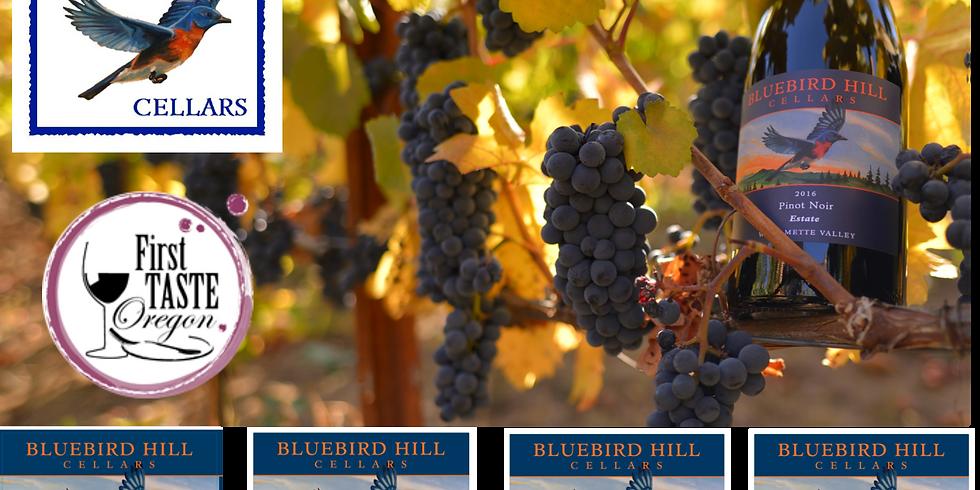 Bluebird Hill Cellars at First Taste of Oregon
