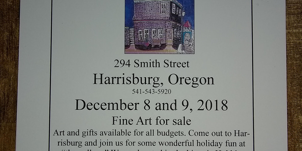 """Bluebird Hill Cellars at """"the gallery"""" Holiday Art Market"""