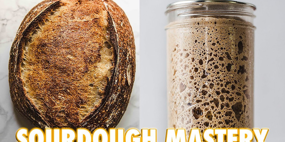 Sourdough Bread class with Dr. Andrew Ross