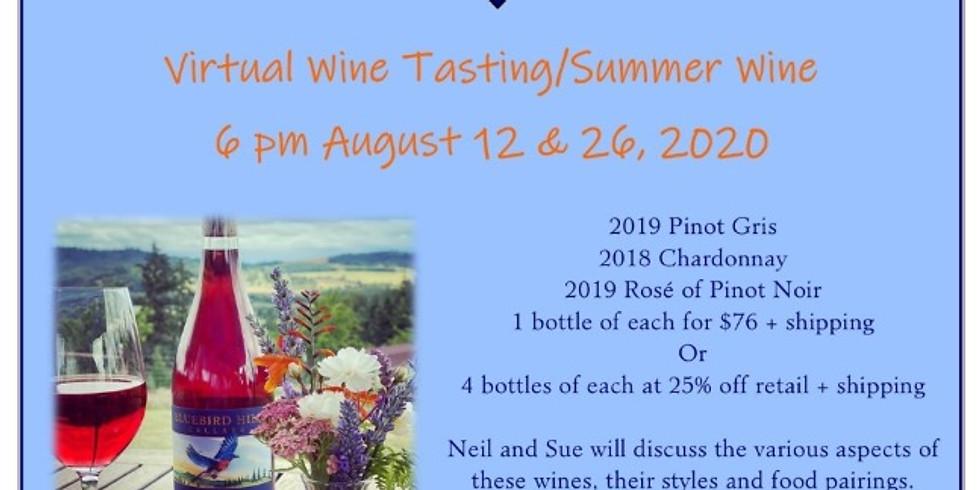 Virtual Wine Tasting/Summer Wine