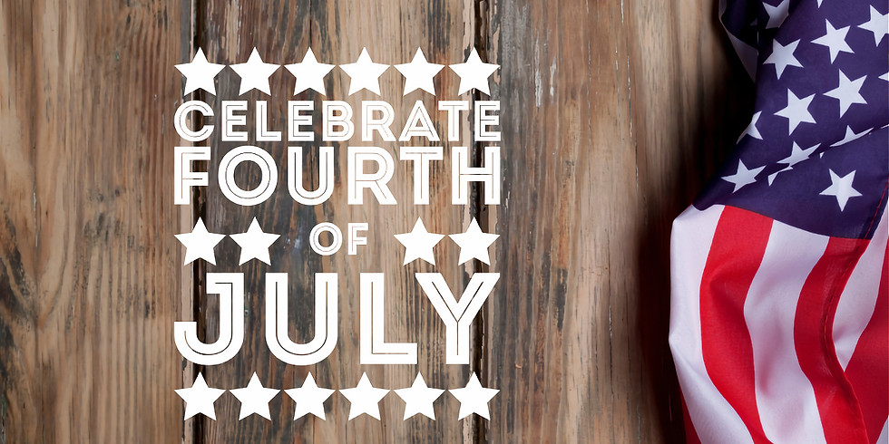 July 4th Holiday weekend