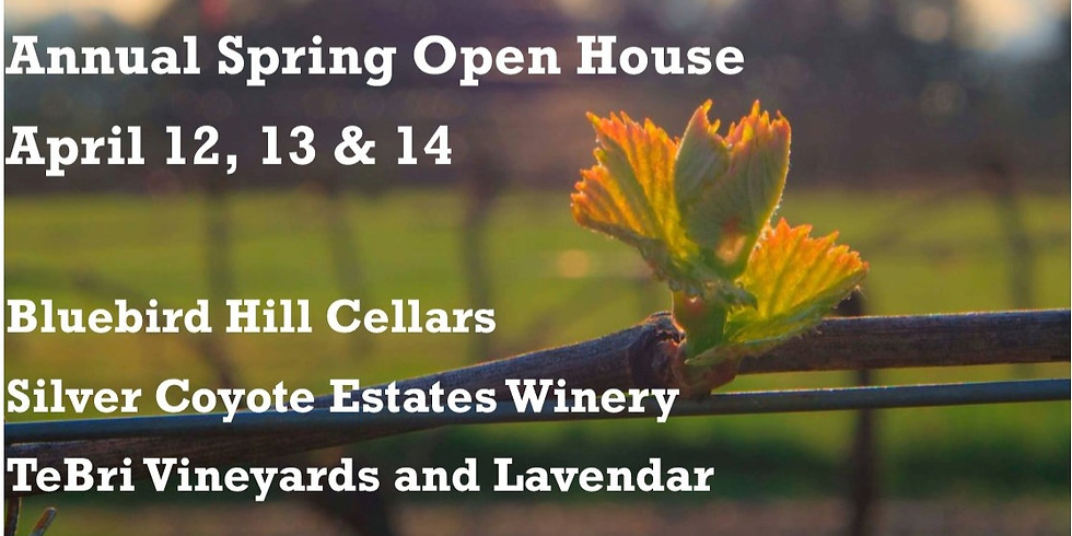 Monroe Hills Wineries Spring Open House