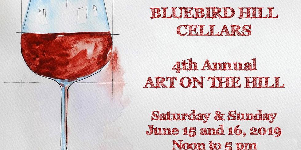 Bluebird Hill Cellars Art on the Hill