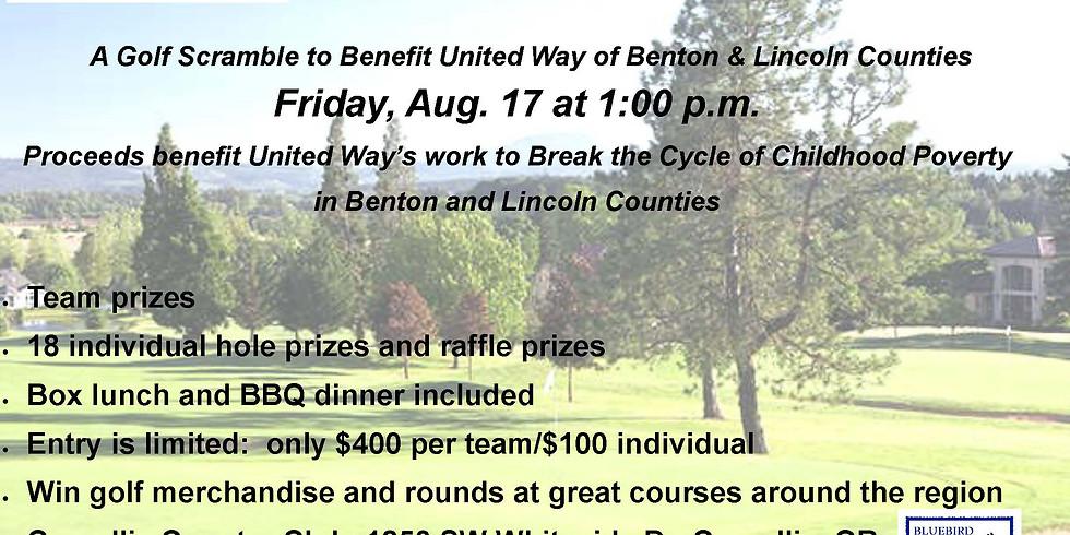 Bluebird Hill/United Way Golf Scramble