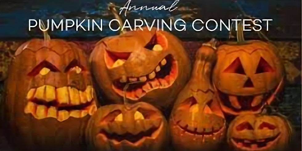 First Annual Pumpkin Carving Contest