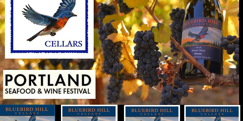Bluebird Hill Cellars at Portland Seafood & Wine Festival
