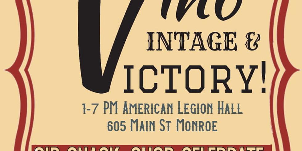 Bluebird Hill Cellars at Vino, Vintage & Victory Festival