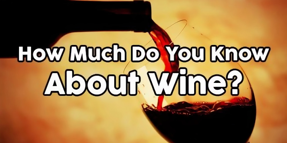 Bluebird Hill Wine Trivia Challenge