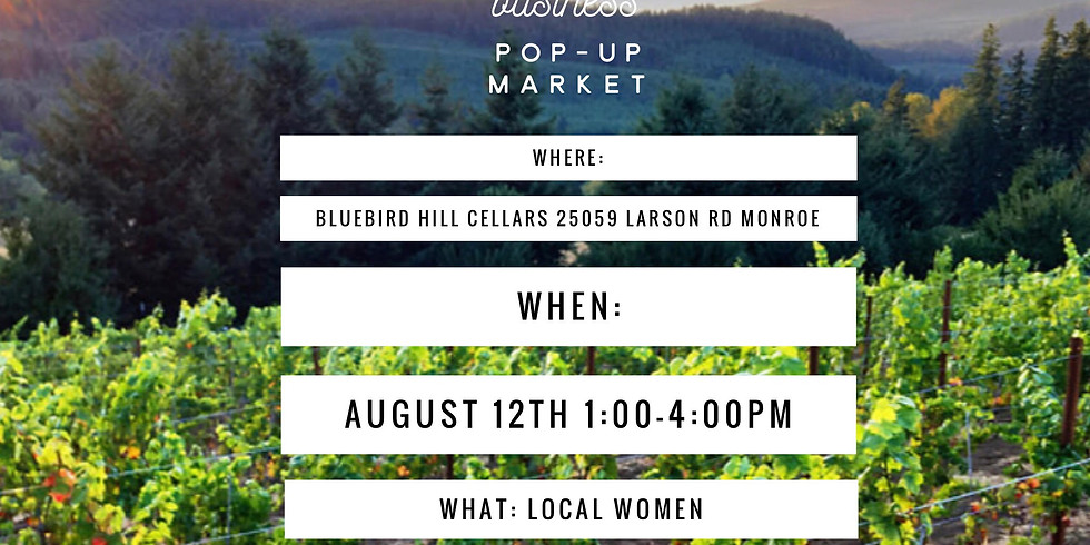 Local Women Owned Business Pop-Up Market