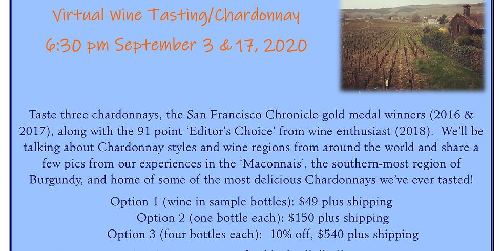 Virtual Wine Tasting/Chardonnay