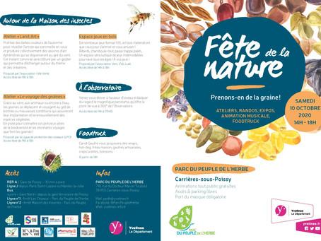 Direction Carrières-sous-Poissy pour la fête de la nature !