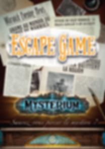 Escape game mysterium - 2019