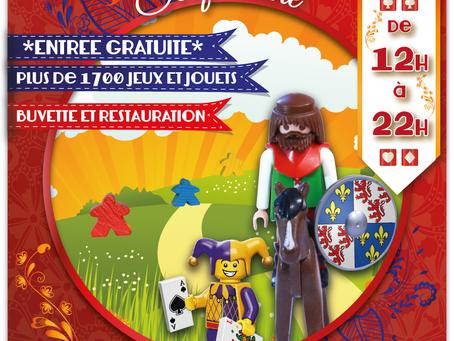 En exclusivité, l'affiche du prochain festival des jeux de Picardie !